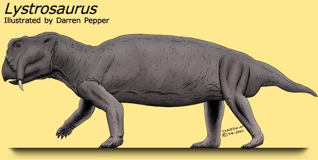 Triassic Period Plants Lystrosaurus